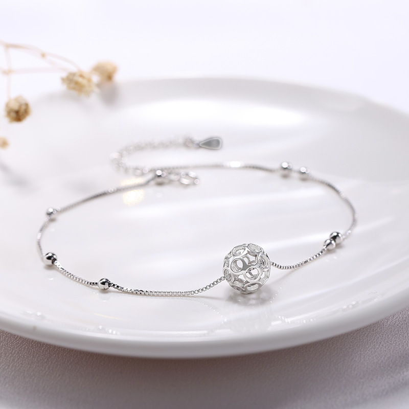 Statement Sphere Anklet
