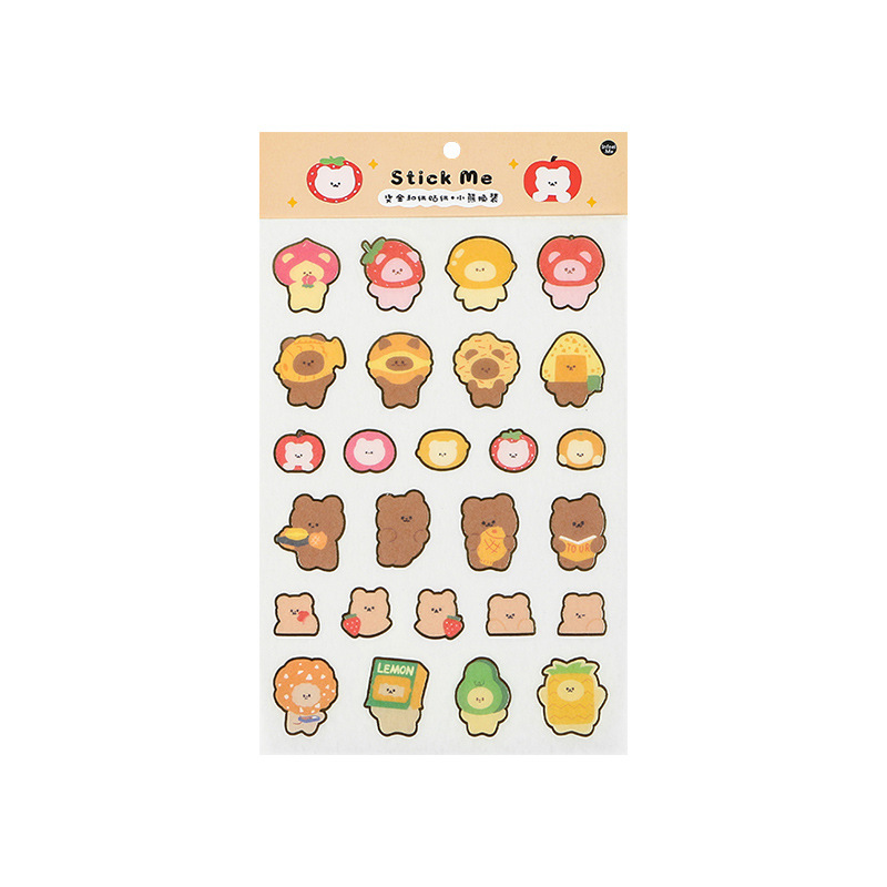 Cartoon Critter Doodles Sticker Packs