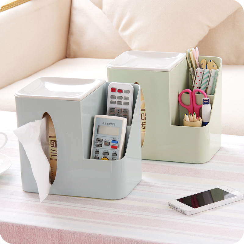 Creative Light Color Storage Box for Office Use