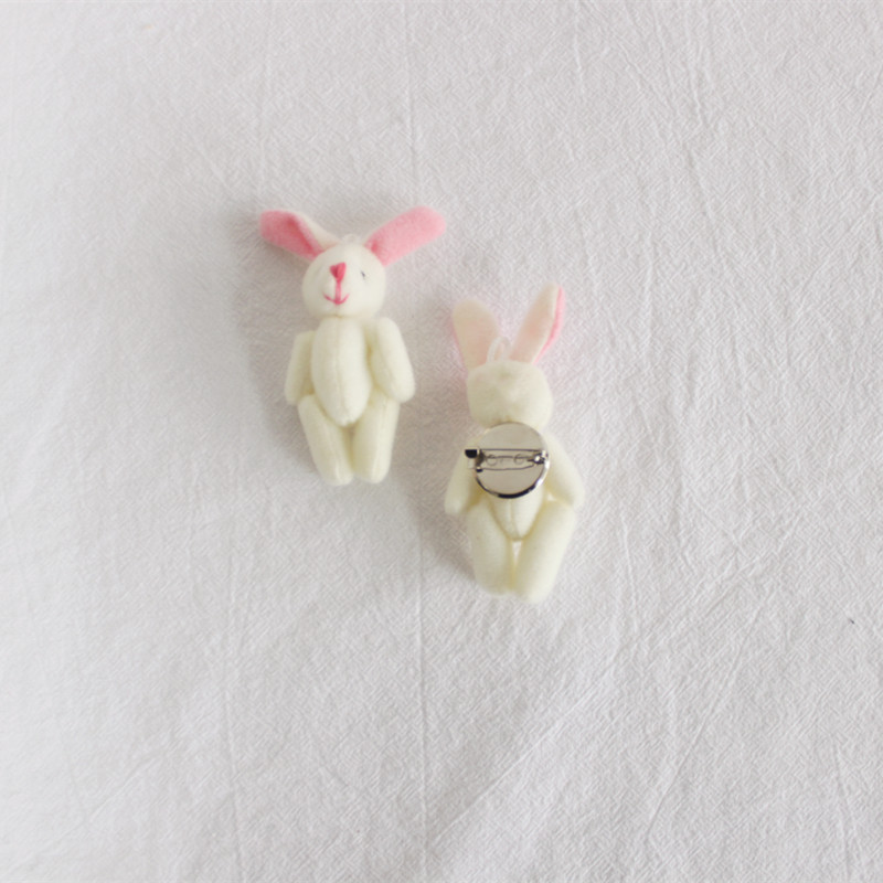 Mini Stuffed Toys Pin for Decor and for Children