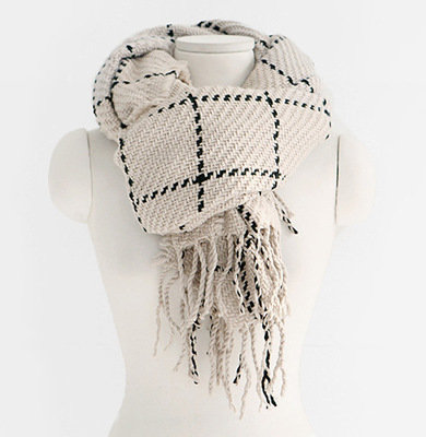 Thickened Long Shawl Scarf for Autumn and Winter Season