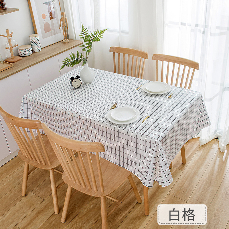 Waterproof Printed Tablecloth for Home Furnishing