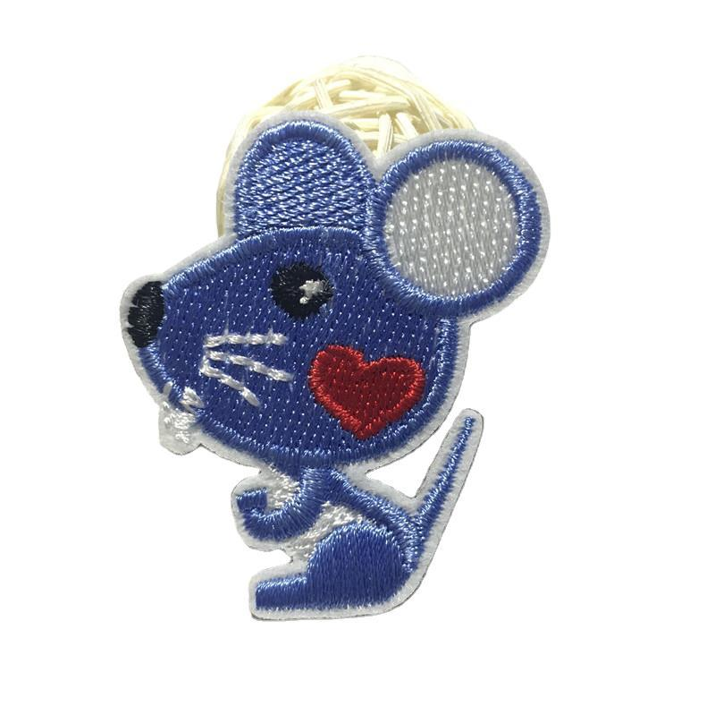 Cute Chinese Zodiac Animal T-Shirt Patch for Kids