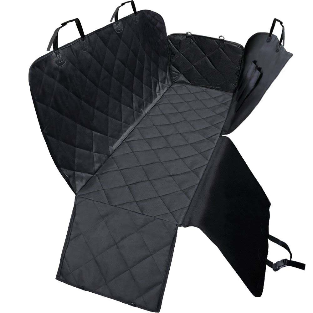 Waterproof and Dirt-Proof Black Car Mat for City Travels with Pets