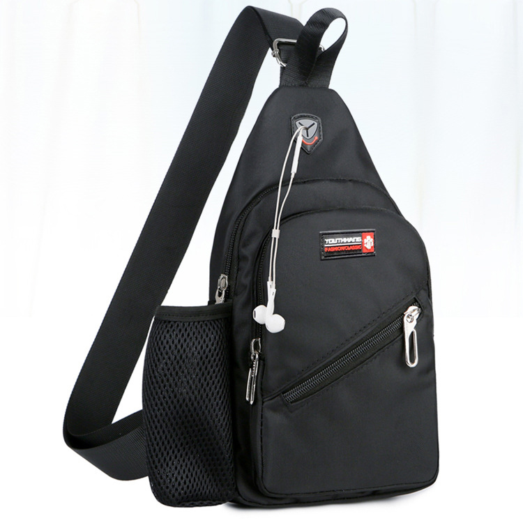 Trendy Oxford Cloth Chest Bag for Important Things