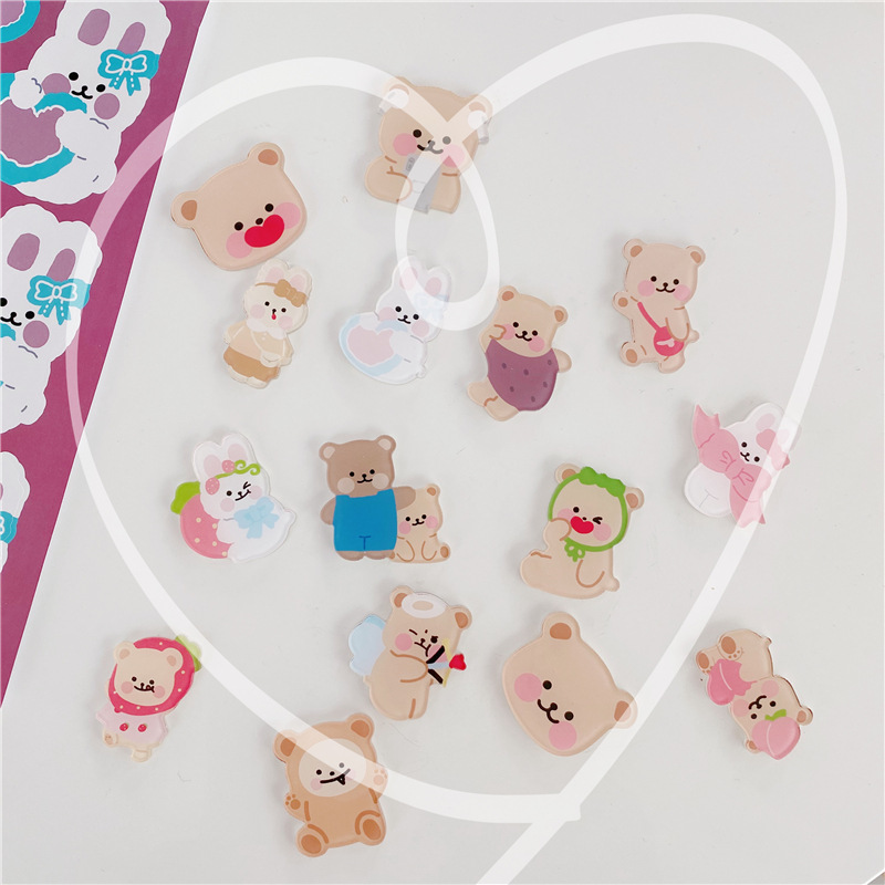 Beautiful and Cuddly Bear Pins for Charming Jackets