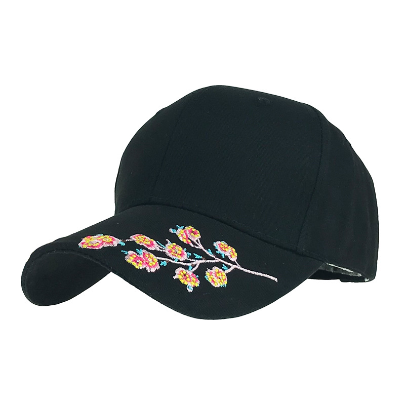 Eye-Catching Embroidered Baseball Cap for Summer Travel Headwear