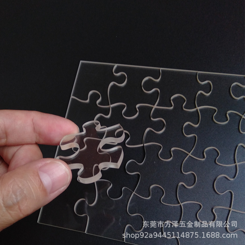 Transparent Acrylic Jigsaw Puzzle for Birthday Gifts