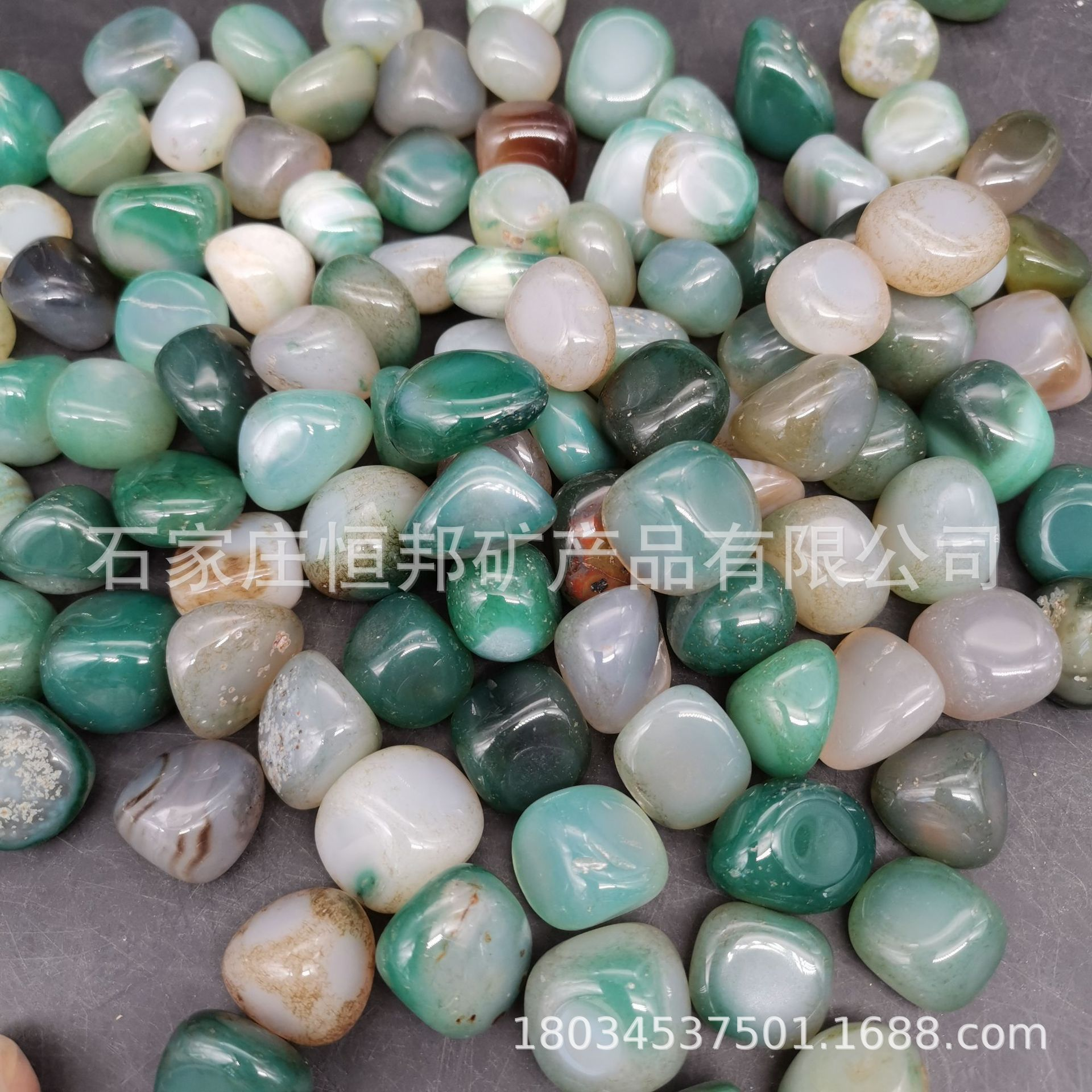 Faux Colored Agate Stones
