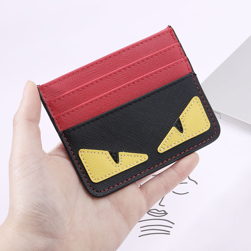 Artsy Seething Eyes Card Holder and Wallet Collection for Fun Shopping Adventures