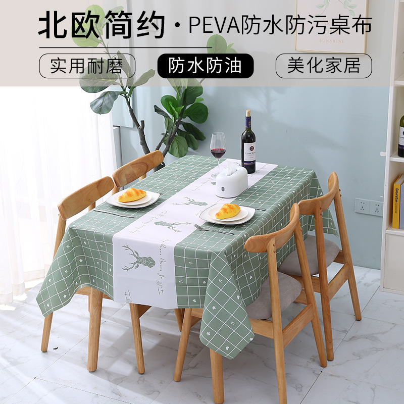 Appealing Waterproof Tablecloth for Improving the Aesthetic of Your Dining Area