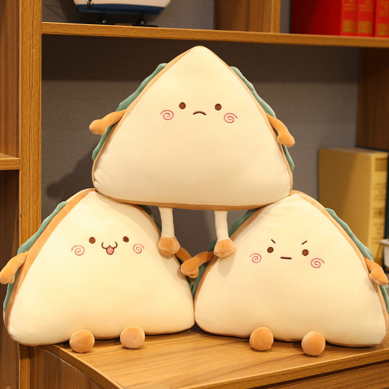 Sandwich Making Faces Plush Doll Collection