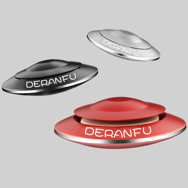 Essential Anti-odor Flying Saucer Designed Air Perfume Freshener for Car Interior Decor and Supplies