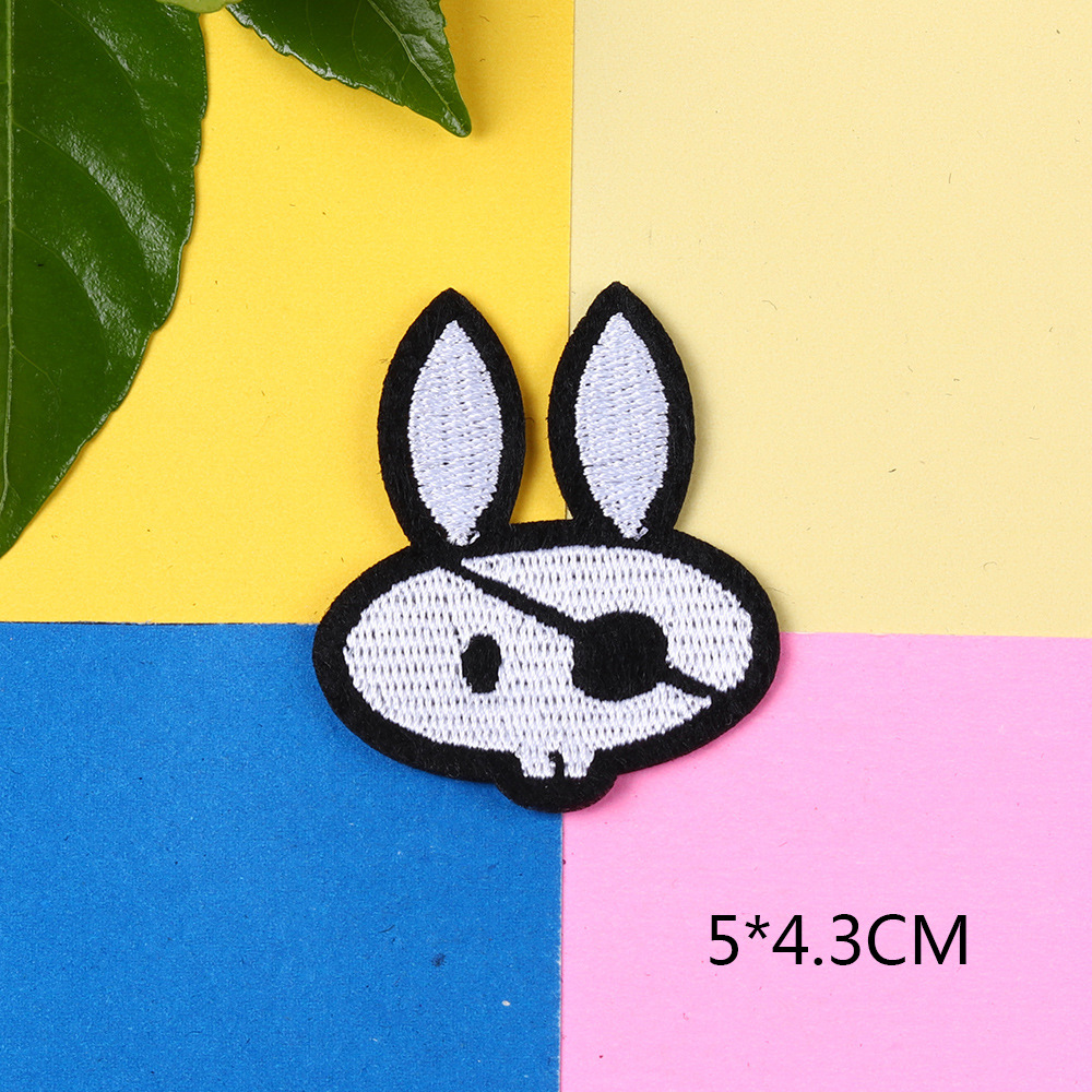 Edgy Haphazard Cloth Patch for Decorating Plain Clothing