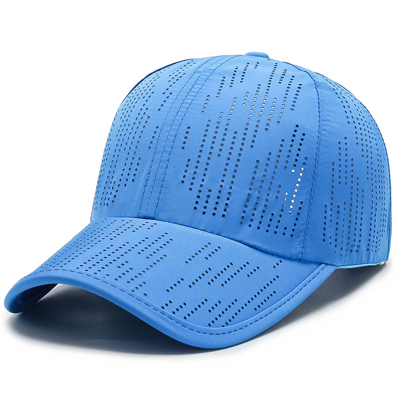 Breathable Solid Colored Baseball Cap for Outdoor Activities