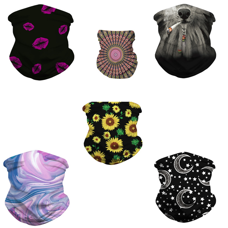Stylish Design Face Scarf for Bikers Face Protection