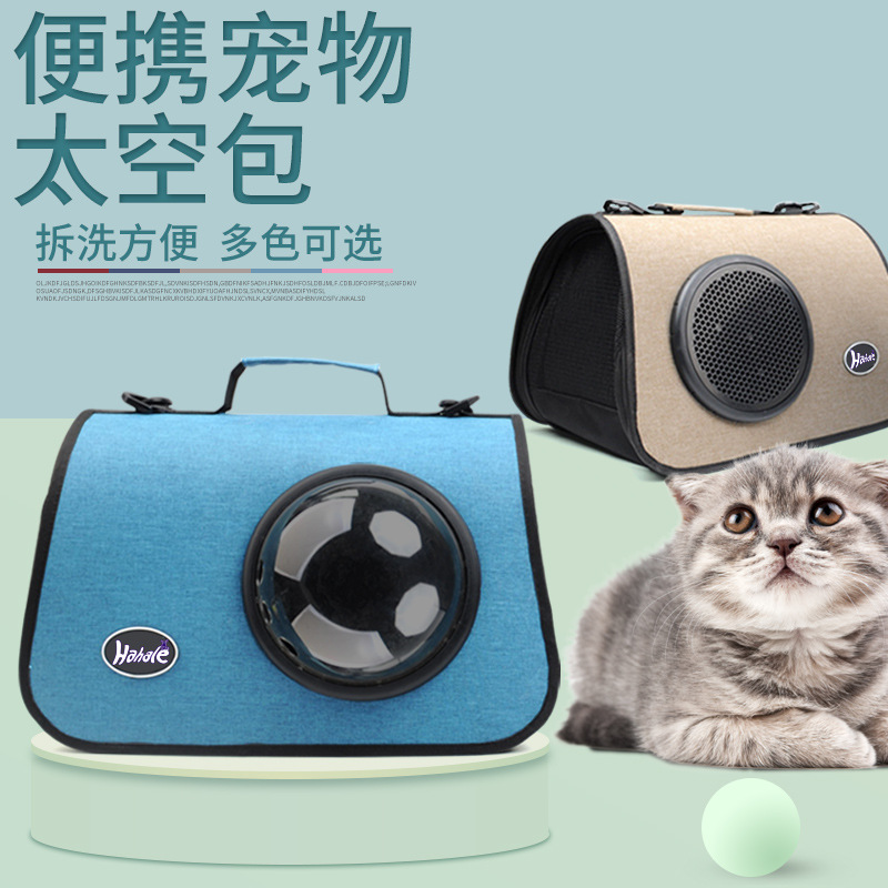 Breathable Radio-Like Pet Carrier Box for Traveling with Pets