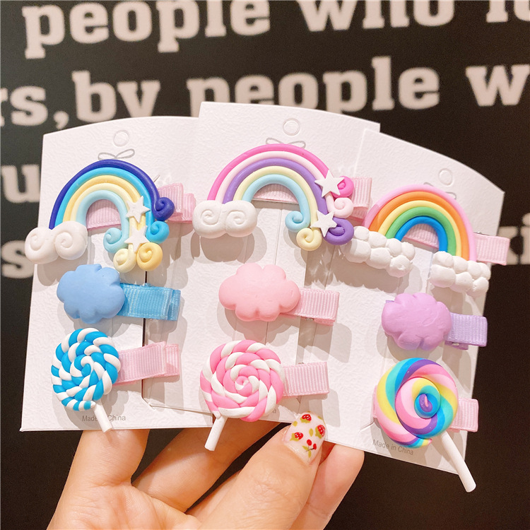 Cute Colorful Hair Clip for Lovely Hair Accessories