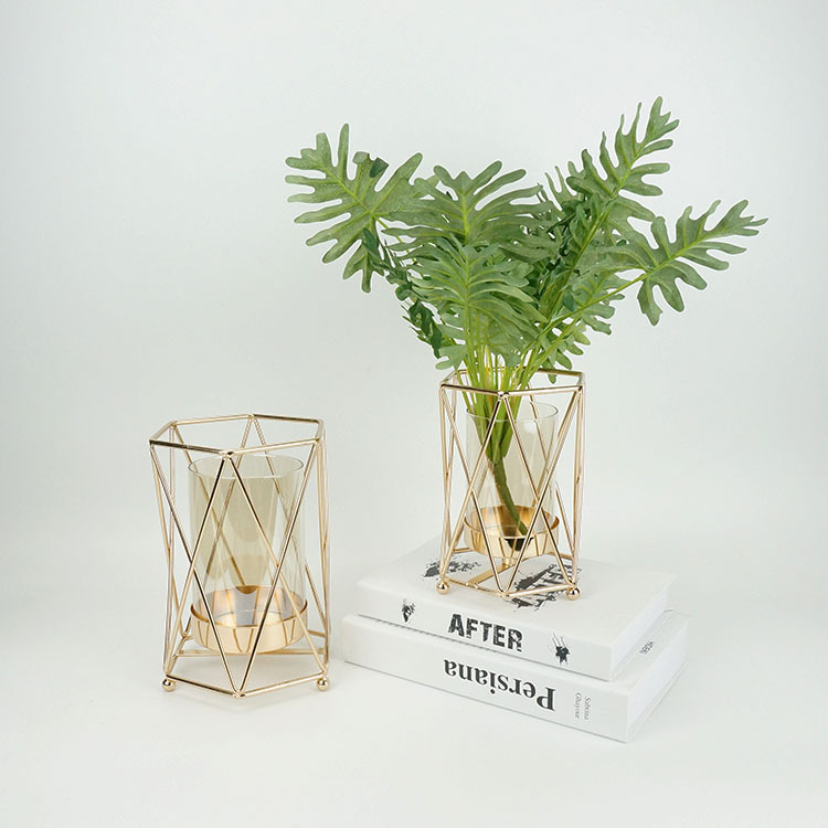 Multi-Function Minimalist Candle Holder for Center Table Decorations