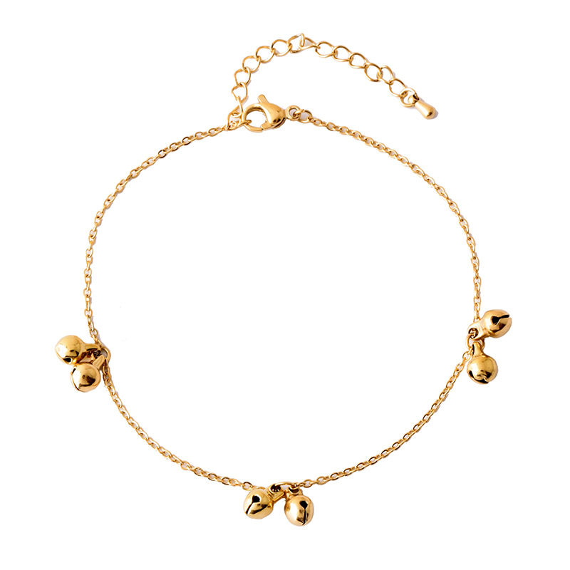 Small Cat's Bell Chain Anklet