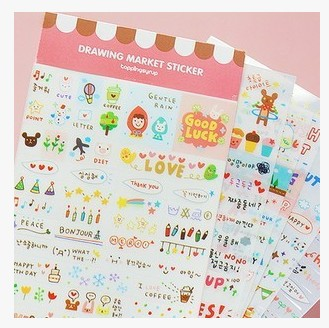 Simple Journal Stickers for Keeping Your Diary Entries Aesthetic