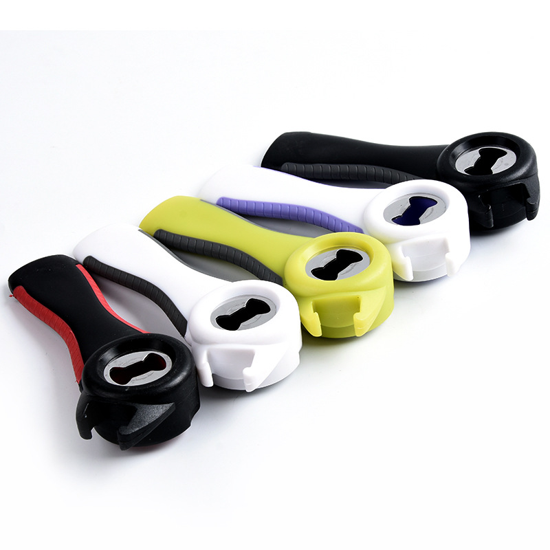 Modern Rubber Multifunctional Can Opener for Efficient Kitchens