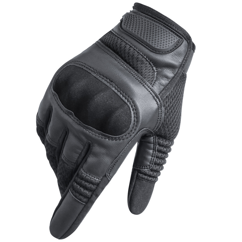 Classic Motorcycle Riding Full Finger Gloves