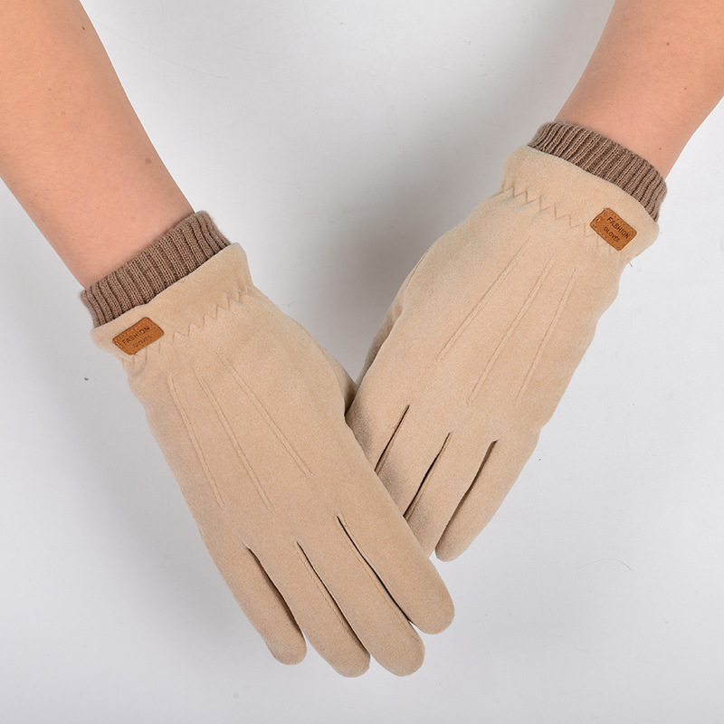 Comfy and Elegant Velvet Gloves for Chilly Weathers