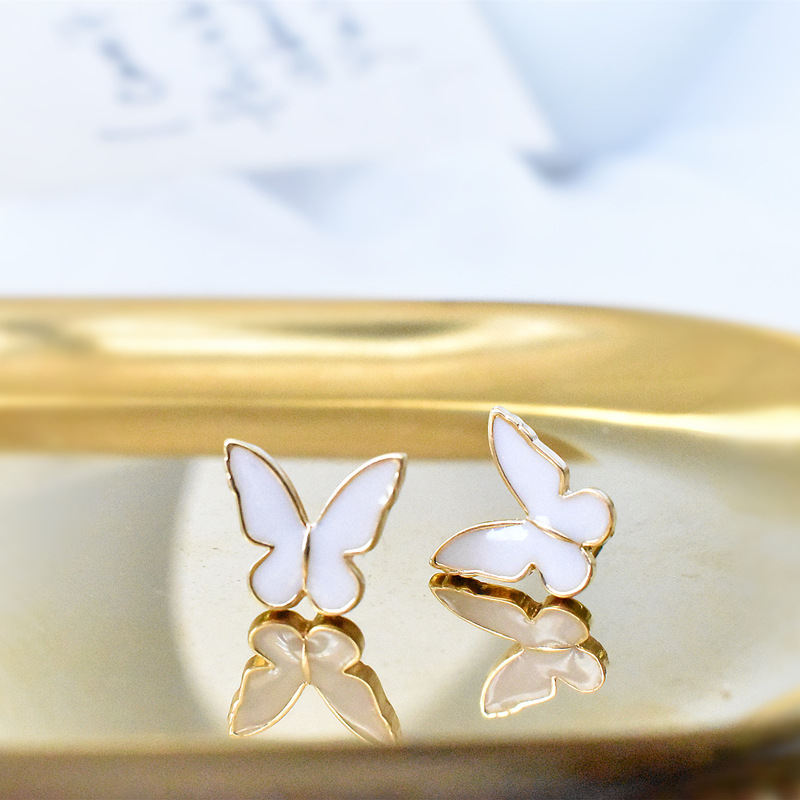 Adorable Butterfly Earrings for Birthday Gifts