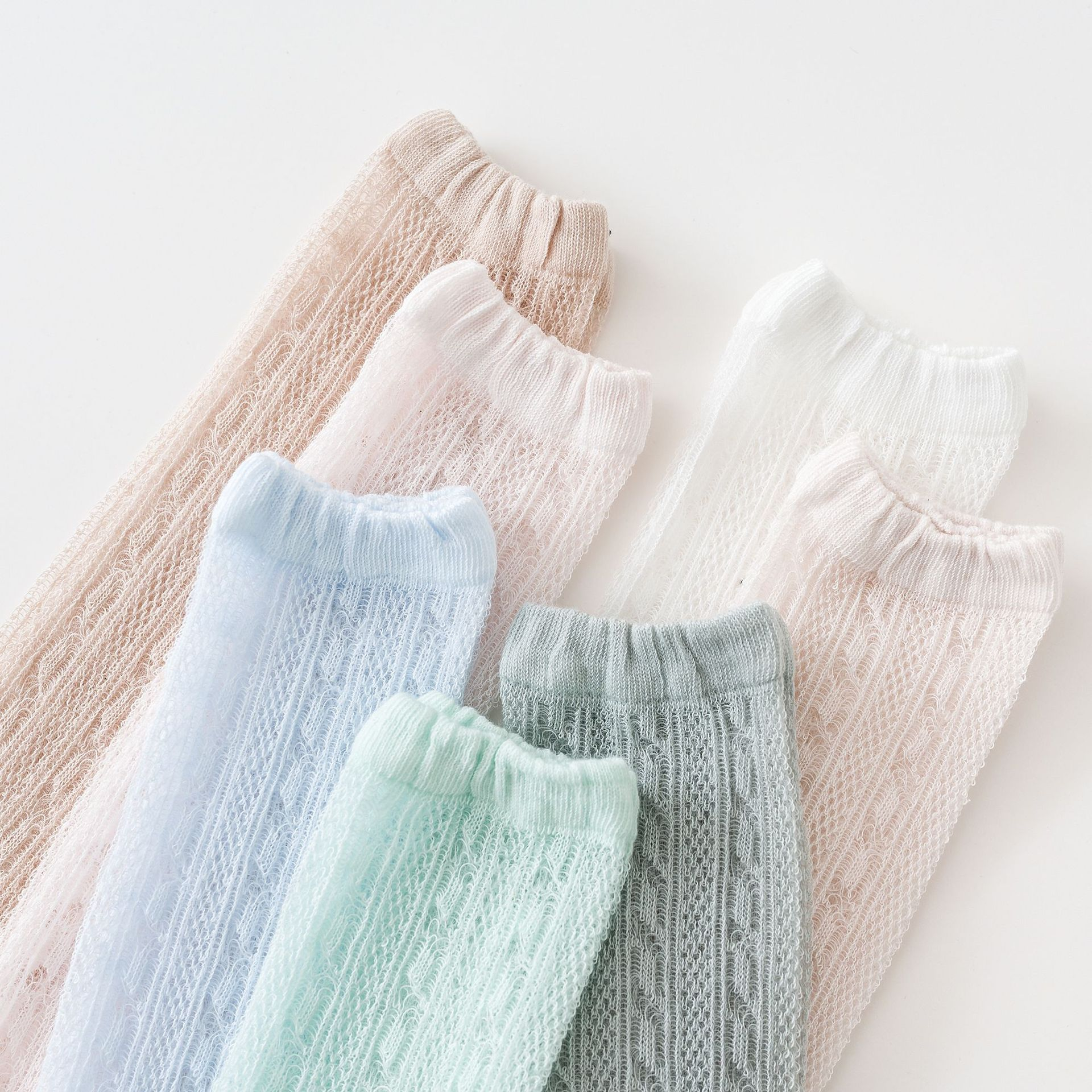 Cozy Breathable Bear Socks for Infants and Babies