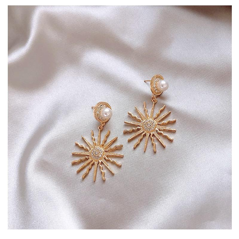 Blazing Sun Dangle Earrings