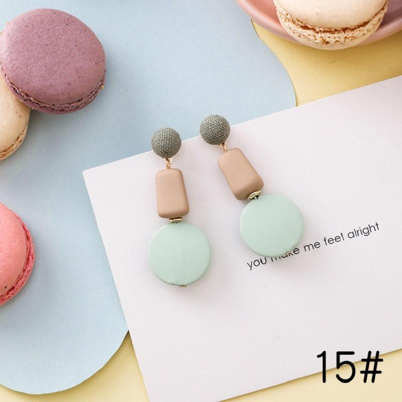 Candy-Colored Earrings