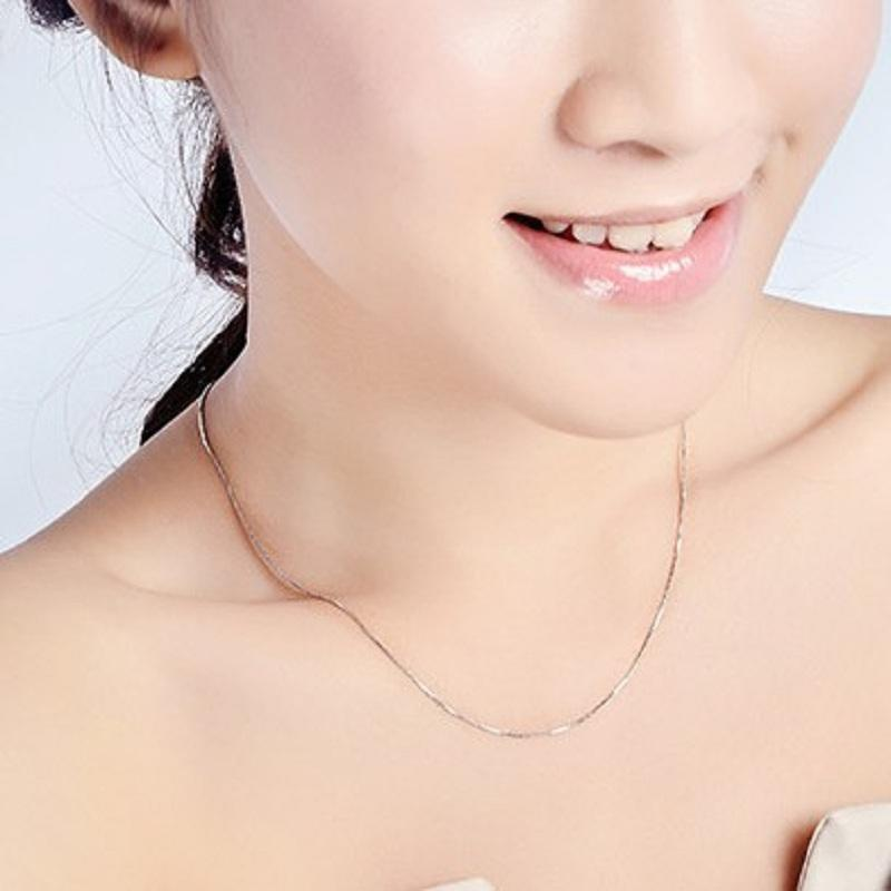 Box Chain Necklace for Ladies