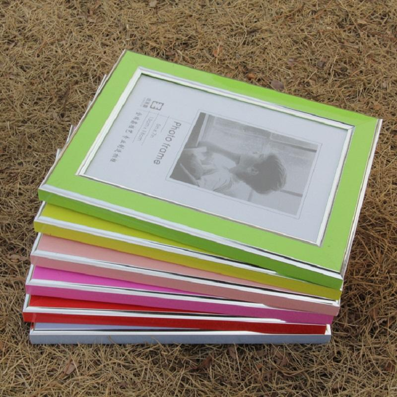 Silver Lined Colored Photo Frame
