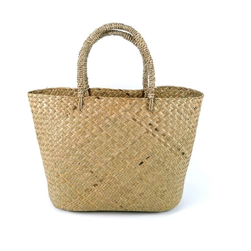 Handwoven Straw Bag