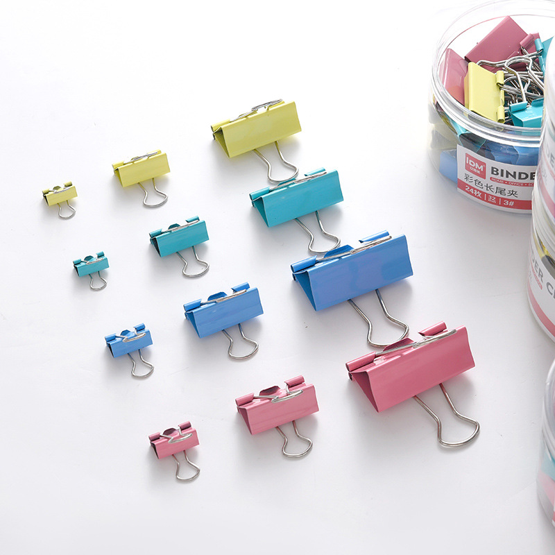 Wide Hold Binder Clips for Stacks of Papers