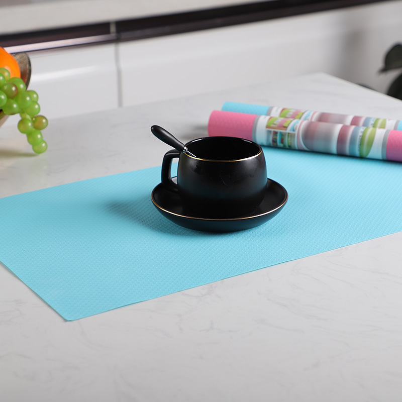 Multicolored Plastic Placemats for Kitchen Drawers