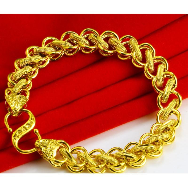 Men's Thai Gold Chain Bracelet