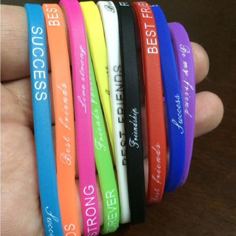 Outdoor Fitness Silicone Wrist Band