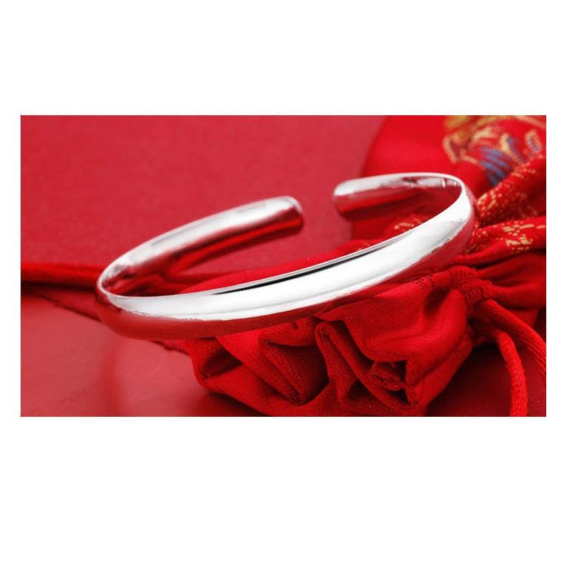 Classic Silver Plated Bangle