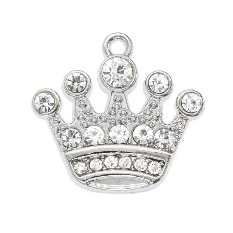 Crystal Crown Pendant