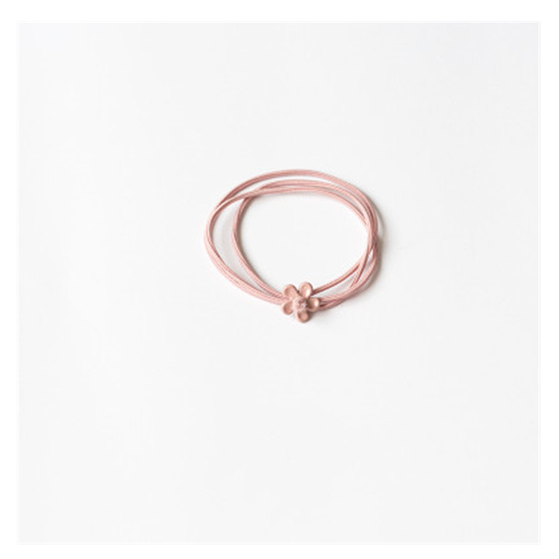 Small Flower Layered Hair Tie