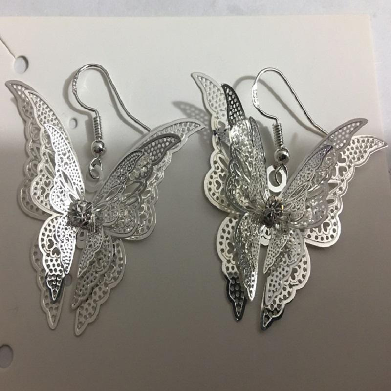Hollow Layered Butterfly Jewelry