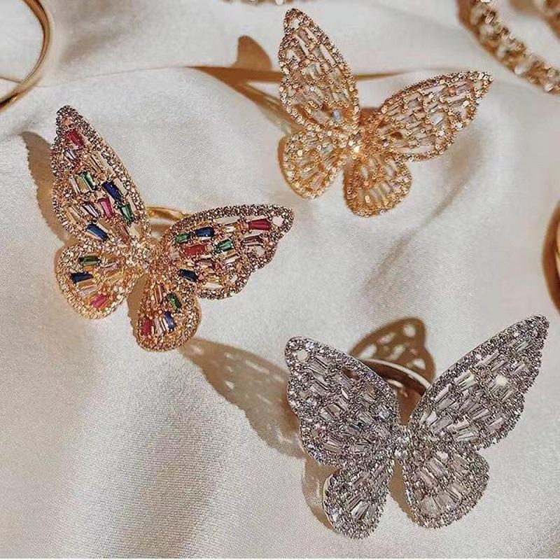 Lux Oversized Butterfly Ring