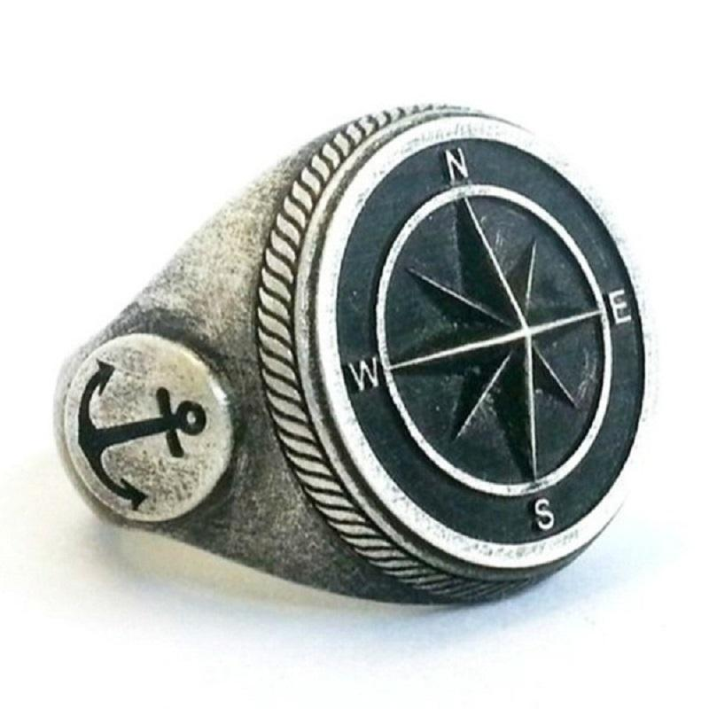 Sailor's Compass Ring
