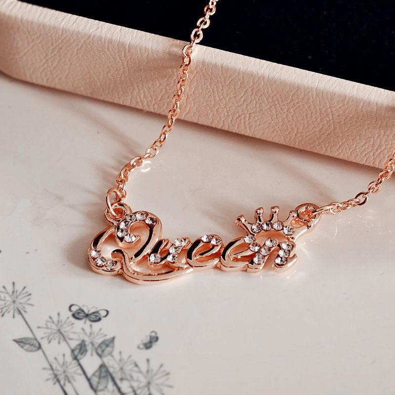 Queen/Princess Chain Necklace