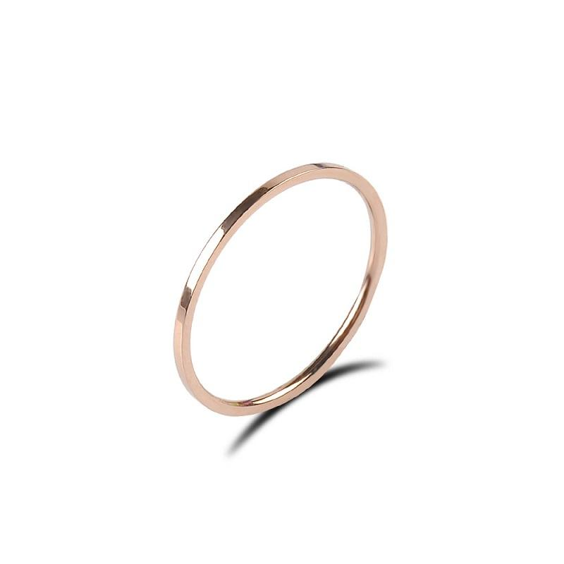 Thin Rose Gold Ring
