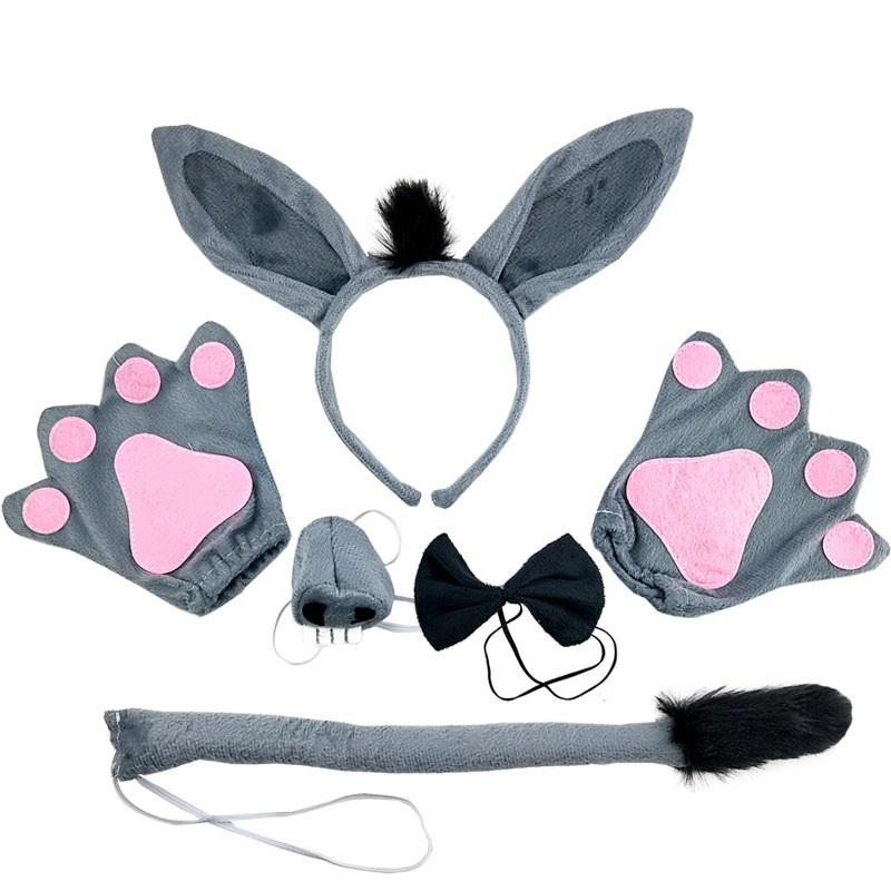 Gray Donkey Hair Accessories