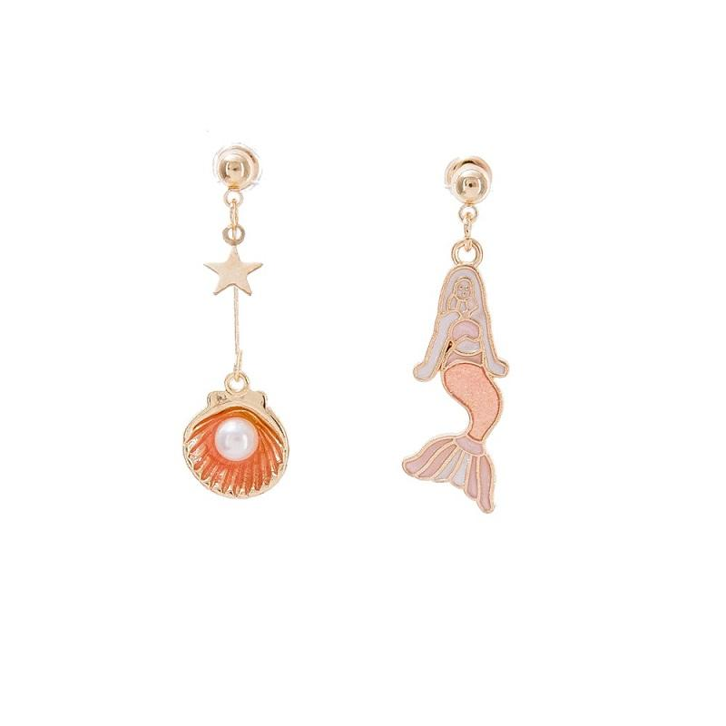 Mermaid Mismatched Earrings