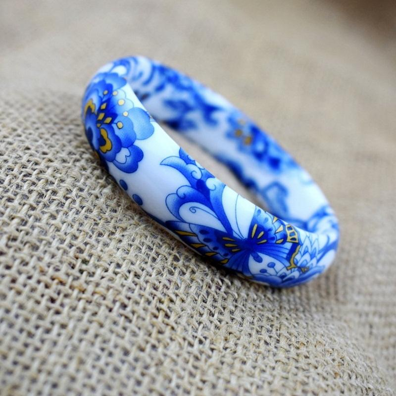 Floral Painting Bangle